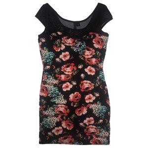 Floral Bodycon H&M Dress